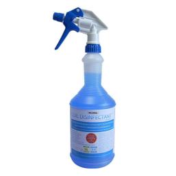 Coil Disinfectant - płyn do czyszczenia i dezynfekcji klimatyzatorów split oraz innych urządzeń klimatyzacyjnych oraz chłodniczych. Usuwa nieprzyjemny zapach. Butla 1l.