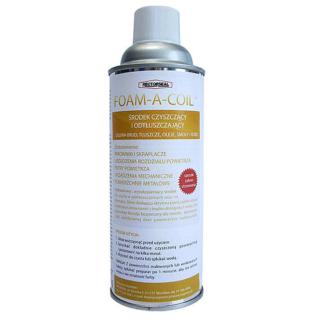 Foam-A-Coil Aerosol - uniwersalny środek do czyszczenia parowników, skraplaczy, filtrów powietrza, urządzeń dystrybucji powietrza oraz innych powierzchni