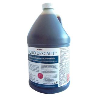 Liquid Descalit - środek do usuwania osadów kamienia z układów wodnych instalacji chłodniczych, klimatyzacyjnych oraz grzewczych (koncentrat 3,8l)