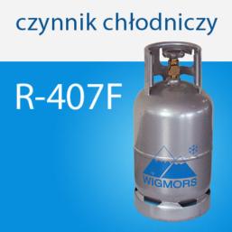 Czynnik chłodniczy R-407F Wigmors gazy chłodnicze