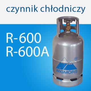 Naturalny czynnik chłodniczy R-600 (n-butan) i R-600A (izobutan)