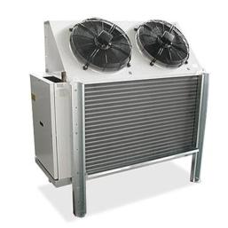 Szokowa chłodnica powietrza SER W - do komór i tuneli zamrażalniczych (głębokiego zamrażania)