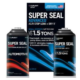 Uszczelniacze mikroubytków Cliplight Super Seal preparaty do uszczelniania miejsc wycieków