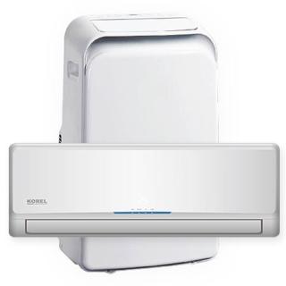 Klimatyzatory Korel - split, przenośne, multisplit, kasetonowe, kanałowe, konsolowe