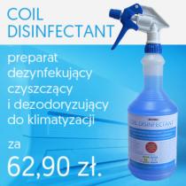 Promocja preparatu do czyszczenia i dezynfekcji parowników klimatyzatorów Coil Disinfectant