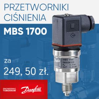 Promocja przetworników Danfoss MBS 1700