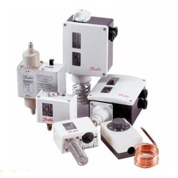 Presostaty i termostaty Danfoss dla chłodnictwa i klimatyzacji