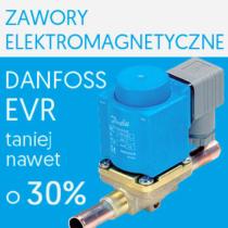 Promocja wybranych zaworów elektromagnetycznych Danfoss EVR