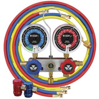 Zestaw manometryczny / zaworowy na R-1234yf Mastercool 83272