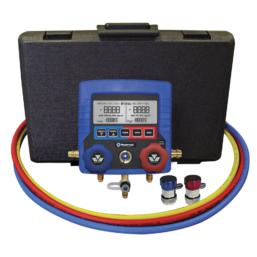 Elektroniczny zestaw manometrów Mastercool 99860-A-1-4 do obsługi systemów autoklimatyzacji