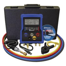 Analizator elektroniczny (zestaw manometrów) Mastercool 99961, z rejestratorem danych