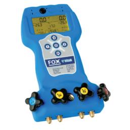 Elektroniczny zestaw manometrów Wigam Fox-R717 analizator zestaw zaworowy