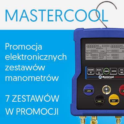 Promocja elektronicznych zestawów manometrów Mastercool