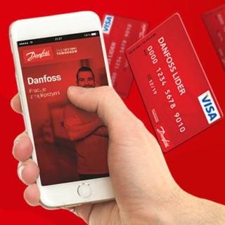 Aplikacja mobilna klubu Danfoss lider
