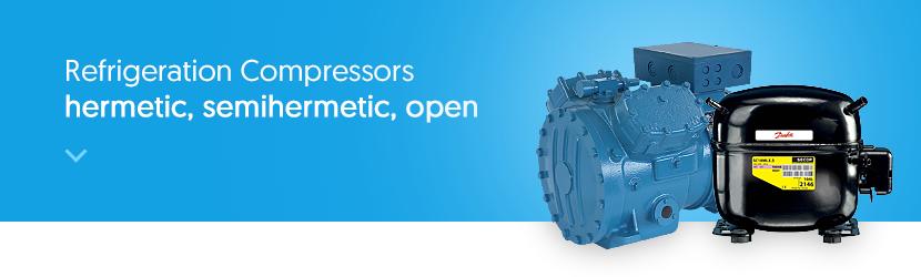 Wigmors | Refrigeration Compressors - hermetic, semi