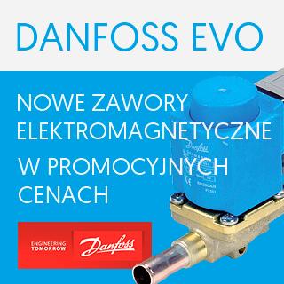 Promocja zaworów elektromagnetycznych Danfoss EVO