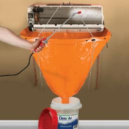Rectorseal Desolv Cleaning Kit Zestaw ochronny do czyszczenia klimatyzatorów split