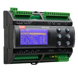 Sterownik przemysłowych chłodnic powietrza Danfoss EKE400