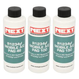 Oleje Next Lubricants PAG do systemów klimatyzacji samochodowych na R123a i R1234yf