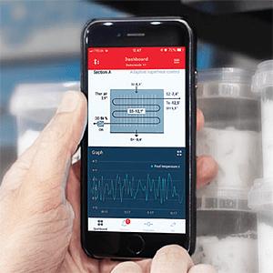 Aplikacja Danfoss AK-CC 55 Connect