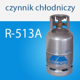 Czynnik chłodniczy R513A do układów klimatyzacji samochodowych