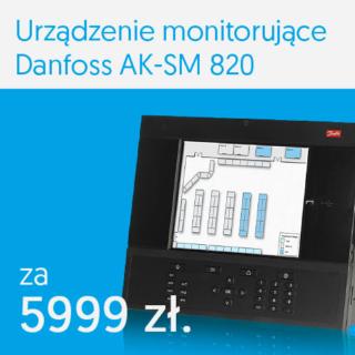 Urządzenie monitorujące Danfoss AK-SM 820 za 5999 PLN