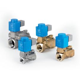 Zawory elektromagnetyczne Danfoss do wody pitnej