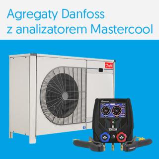 Przy zakupie agregatu Danfoss (wybrane modele) analizator Mastercool Spartan za 1000 zł.